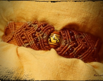 Boho knotted bracelet