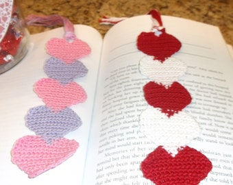 Bookmarks in Hearts