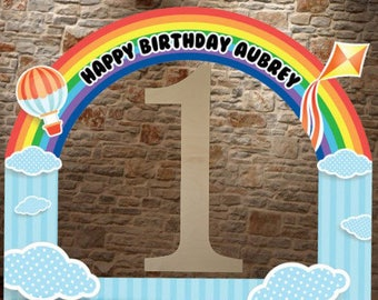 Wooden Number, Photo Prop, Birthday Number, Wooden Numbers, Large Wooden Number, One