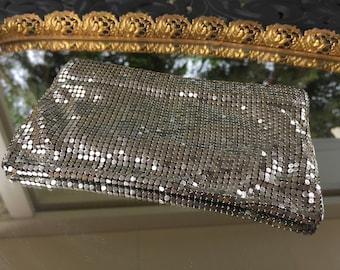 Made in USA Duramesh Silver Purse
