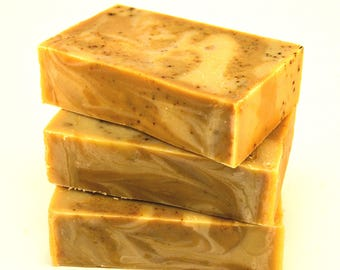 COFFEE UNSCENTED Soap, natural soap, vegan soap, cold process soap, handmade soap Australia, artisan soap