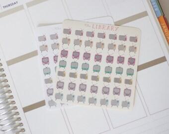 49 Mini Vintage TV Planner Stickers, Perfect for Erin Condren, Kikki K, Plum Paper, Filofax, Happy Planner, Inkwell Press