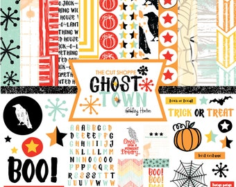 Ghost Town Digital/Printable Scrapbook Collection