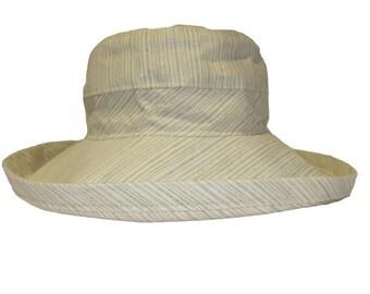 The Noosa Hat | Santa Monica | Linen | Narrow Brim