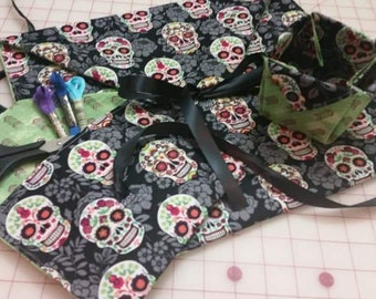 Cross stitch project bags