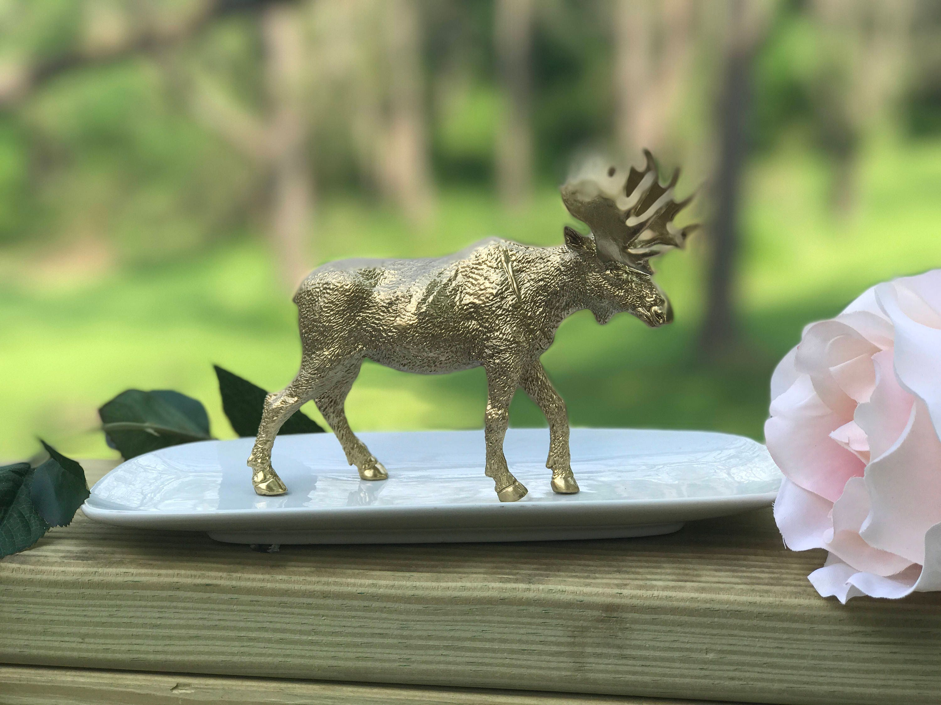 Moose Jewelry Holder Large Moose Ring Holder Catch All