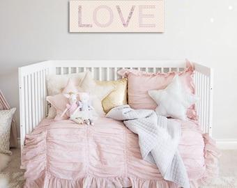 Love painting children's bedroom / nursery girl nursery decor