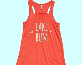 Lake Bum - Fit or Flowy Tank