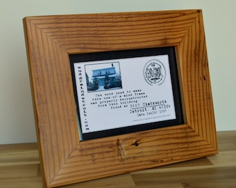 5 x 7 Reclaimed Wooden Picture Frame   3669 Chatsworth Detroit, MI