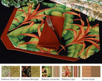 Outdoor Colletion Reversible Rectangle Placemat