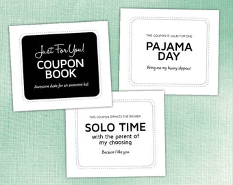 Awesome Coupons for Kids of All Ages, Funny, Unique & Useful, Printable PDF