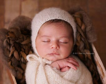 Forest soil Thin and thick blanket/brown blanket/mink blanket/bump blanket/Newborn Photography Props/layering blanket/photo prop/preorder