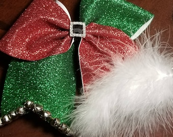 Christmas CHEER bow!