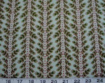"""Chanteclaire Quilting Fabric, """"Le Petite Jardin"""" by Michelle Blackhurst Sold by the HALF Yard"""