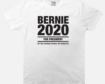 Bernie Sanders 2020 Presidential T-Shirt - Screen Printed - Available in S to  2XL