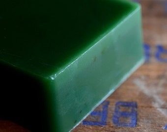 Black Tea and Mint Soap, Handmade Glycerin Soap