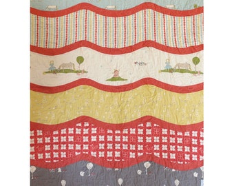 By Sea or By Land Quilt Pattern - Paper Pattern