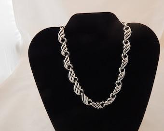 Vintage Silver Toned Necklace