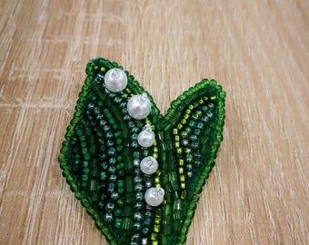 Handmade brooch flower Brooch lily
