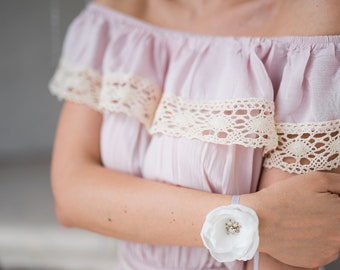 Wrist Corsage / bracelet for bridesmaid or bride
