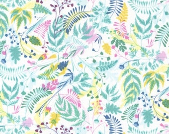Dear Stella - Life Aquatic Sea Floral Stella - 498 Multi/White