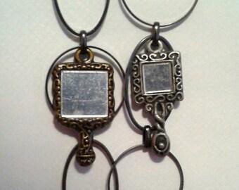 Mirror Image Earrings