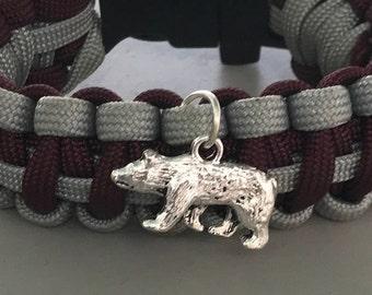 Bear Paracord Bracelet
