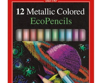 Faber-Castell Metallic Colored EcoPencils 12ct