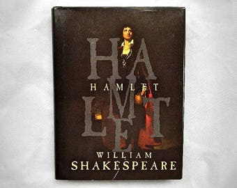 Hamlet by William Shakespeare Vintage 1989 Hardcover Book