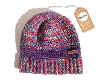 Colorful Slouchy Beanie