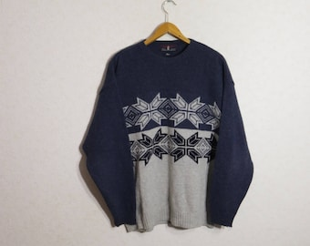 Sweater Norwegian Sweater BRONSON Clothing Pullover Nordic Wool Sweater XXL Size