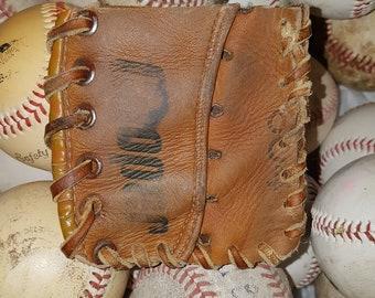 Repurposed Baseball Glove Wallet - Cooper