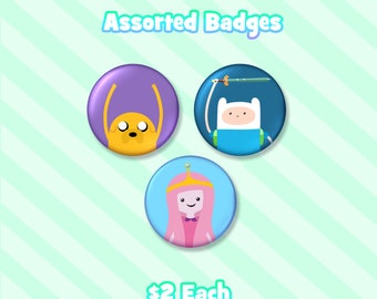 Adventure Time Badges
