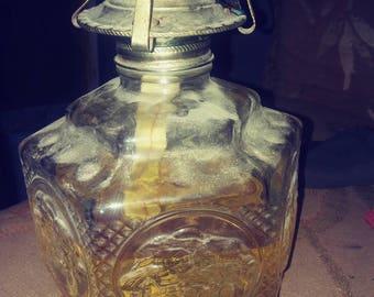Lamplight Farms vintage oil lamp