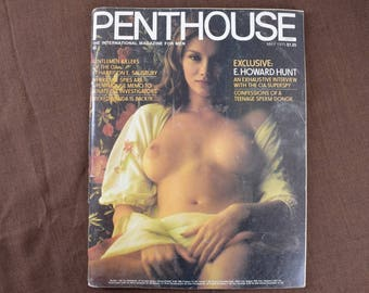 Penthouse Magazine from May 1975  Ava Gallay