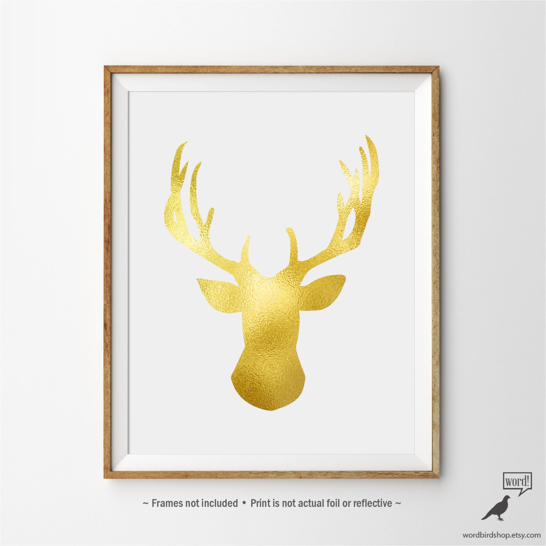 Dorable White Antlers Wall Decor Photo - Art & Wall Decor ...