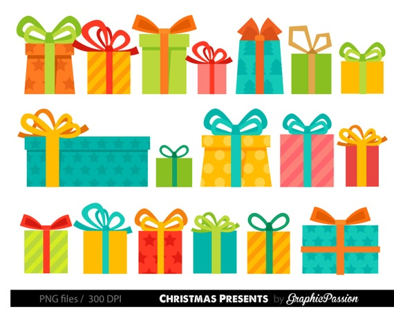 presents clipart christmas presents clipart birthday presents rh etsystudio com clipart christmas presents clipart present