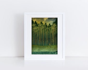 In The Pines - Signed Print