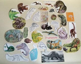 Dino-Mite paper ephemera pack
