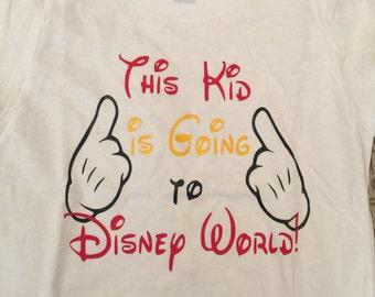 Boys Mickey Mouse Disney Tee shirt