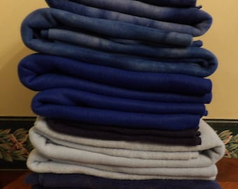 Lot of 8 Pieces of Fleece New and Unwashed F45