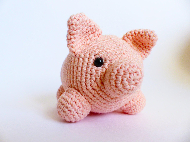 Amigurumi Pig : Crochet pattern amigurumi pig crochet pig pattern pig amigurumi