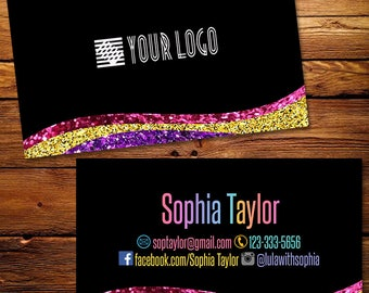 Business Cards, Fast Free Personalization and Change, Digital Business Cards,Home Office Business Card,Mandala Business card