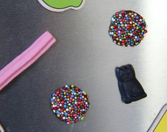 Lolly magnets