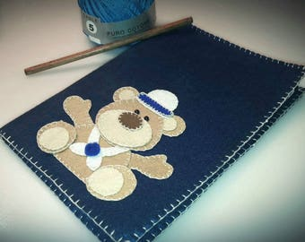 Hand sewn Notebook Cover