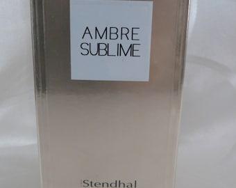 AMBRE SUBLIME By Stendhal 90ml Eau De Parfum rare discontinued.