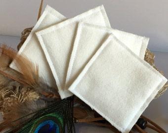 Reusable 100% Cotton Pads