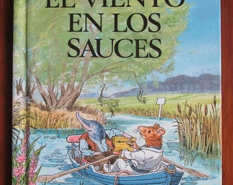 Vintage Ladybird Book in Spanish - El Viento En Los Sauces [ The Wind In The Willows ] by Kenneth Grahame