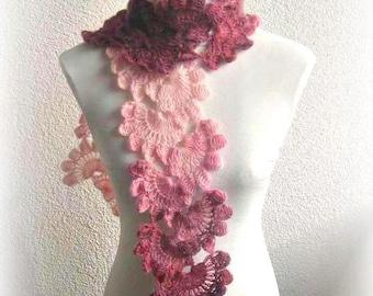 PDF crochet pattern, shawl, Lace, DIY, Handmade ,Scarfs, Crochets, Instruction, Tutorial, Pattern for Scarf
