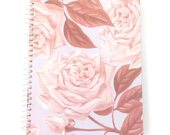 Notebook Lavender Blush Rose #BOSS Notebook